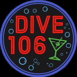 Dive106th St. Logo Upper West Side Dive Bar